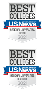 us news and world report best college badges 2021